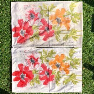 Vintage Vera Floral Pillow Cases